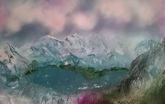 Azure Lake by CA Simonson