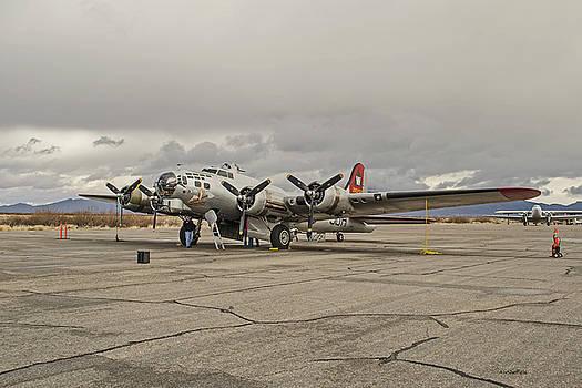 B-17 Flying Fortress by Allen Sheffield