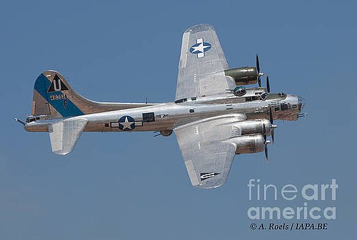 B-17 Flying Fortress  Sentimental Journey by Antoine Roels