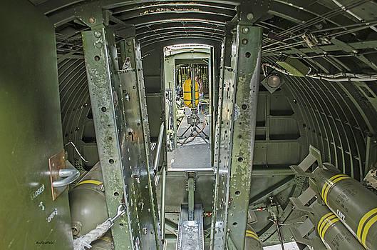B-17 Interior by Allen Sheffield
