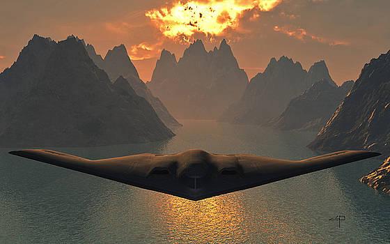 B-2 Spirit by Steven Palmer