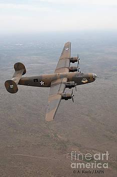 B-24 A Liberator by Antoine Roels