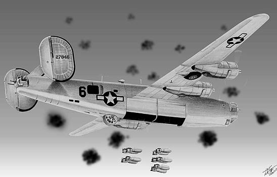 B-24 by Lyle Brown