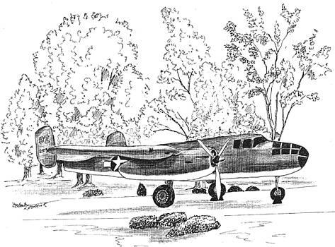 B 25  by Barney Hedrick
