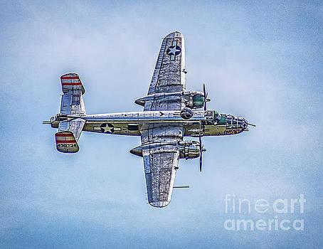 B-25 Mitchell Panchito  by Nick Zelinsky
