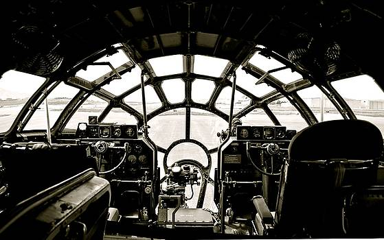 B-29 Bomber Cockpit by Amy McDaniel
