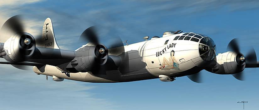B-29 by Steven Palmer