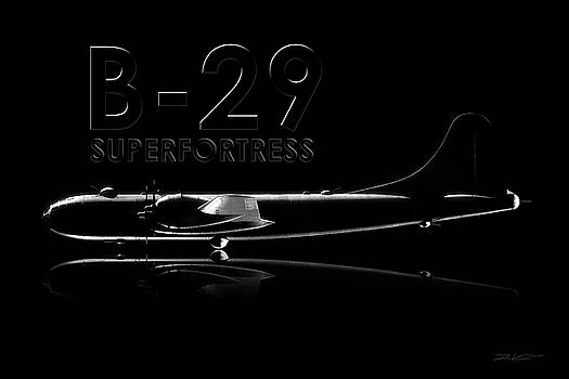 B-29 Superfortress by David Collins