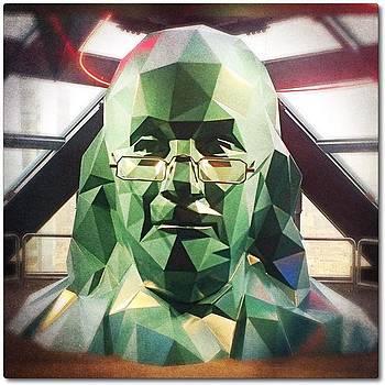 B For Ben Franklin #rebels_b by Jen Peterman