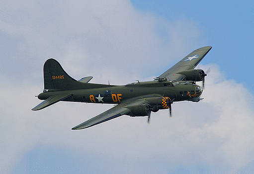 B17 Flying Fortress - Sally B by David Chennell
