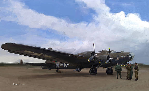 B17 Home For A Minute by  Edward Joel Wittlif