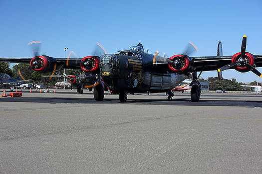 John King - B24 Liberator Start-Up at Livermore KLVK Memorial Day
