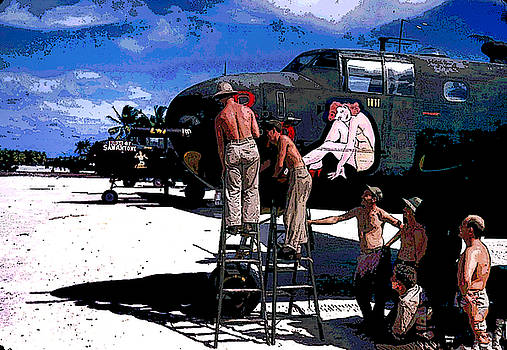 B24 The Liberator by Charles Shoup