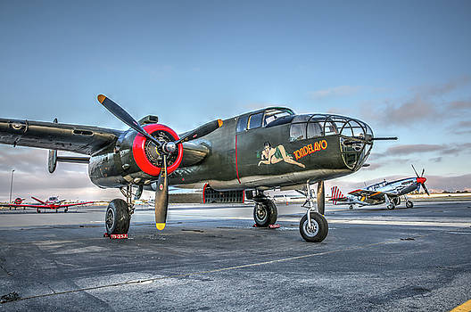 John King - B25 Mitchell at Livermore