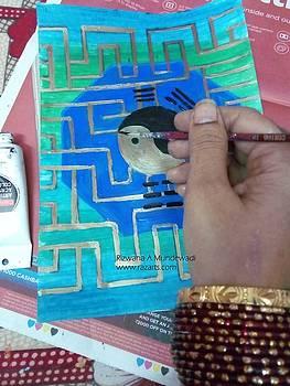 Rizwana Mundewadi - Ba Gua Luck Work in Progress