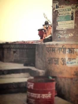 LeLa Becker - Baba at the ghats