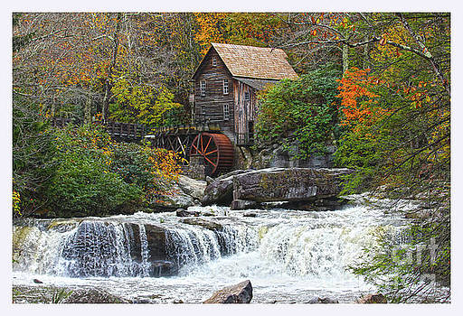 Babcock State Park Grist Mill by Ronald Williamson