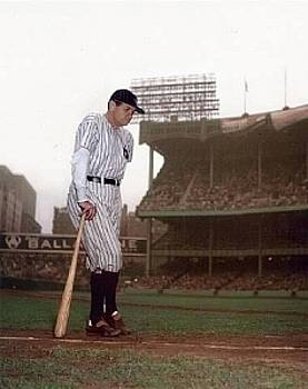 Babe Ruth's Final Appearance by Ralph Morse