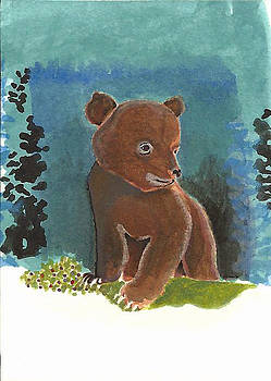 Baby Bear by Andy Hoskins