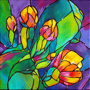Judi Krew - Baby Blooms Stained Glass