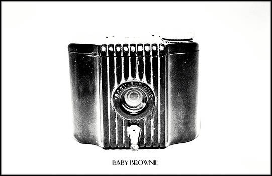 Baby Brownie Bw Art Deco Camera by Tony Grider