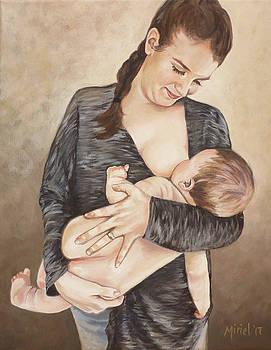 Baby Cheeks by Miriel Smith