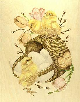 Baby Chicks by Danette Smith