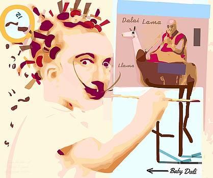 Larry Lamb - Baby Dali Dalie Lama Llama