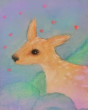 Baby Deer by Annie Kehoe