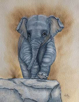 Baby Elephant  by Kelly Mills