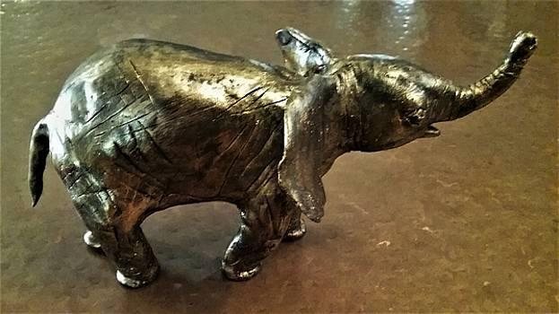 Baby Elephant by Mario Carta