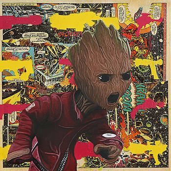 Baby Groot  by Anthony Jensen