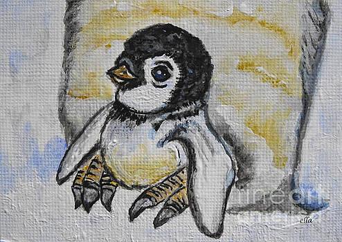 Baby Penguin by Ella Kaye Dickey