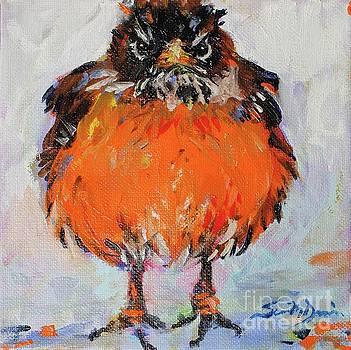 Baby Robin by Susan Davies