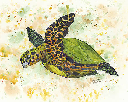 Darice Machel McGuire - Baby Sea Turtle