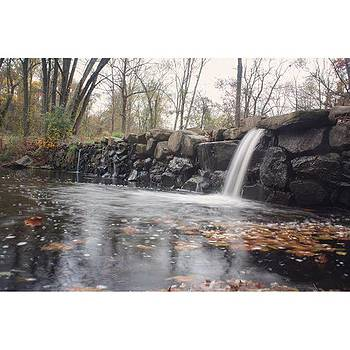Baby Waterfall In Chester County A by Stephanie Tomlinson