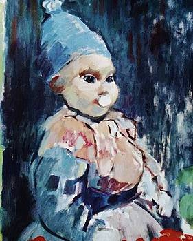 Wouters Rik - Baby With Blue Cap 1911
