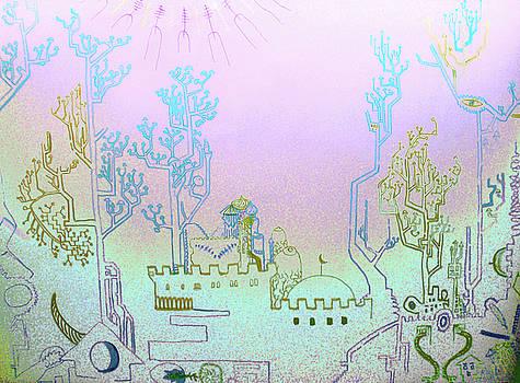 Babylon Landscape by Raul Morales