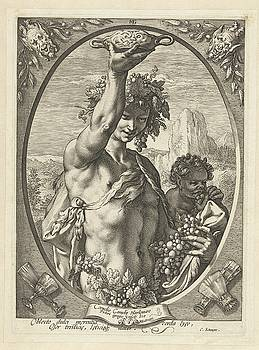Bacchus god of ectasy by R Muirhead Art