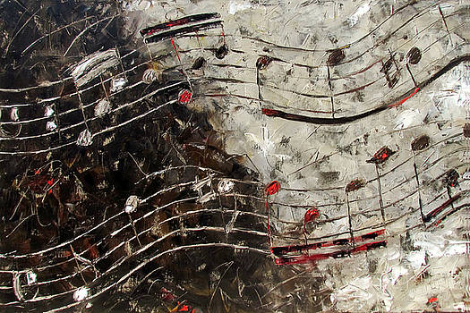 Bach Invention 13 by Debra Hurd