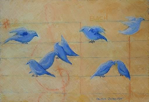 Bach's Birds by Regina Calton Burchett