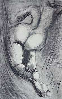 Back 6 - Female Nude by Carmen Tyrrell