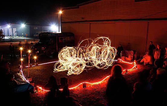 Back Alley Fire Show 1 by Dave Brooksher