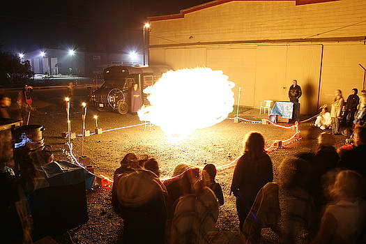 Back Alley Fire Show 3 by Dave Brooksher