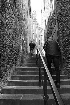 Back Alleys of St. Malo by Brandy Herren