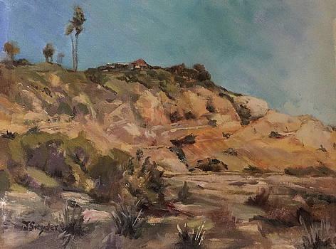 Back Bay Cliff by Joyce Snyder