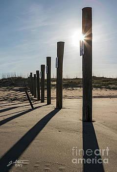 Back Bay NWR Beach by Jeffrey Stone