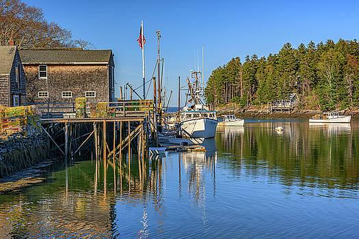 Back Cove in New Harbor by Rick Berk