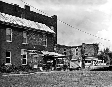 Back Lot of Building In Cairo Illinois by Dylan Murphy