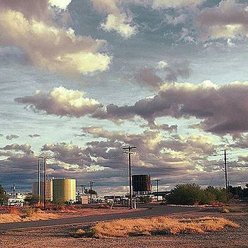 Back Side Of Water Tower, Arizona. by Speedy Birdman